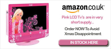 Pink LCD TV at Amazon